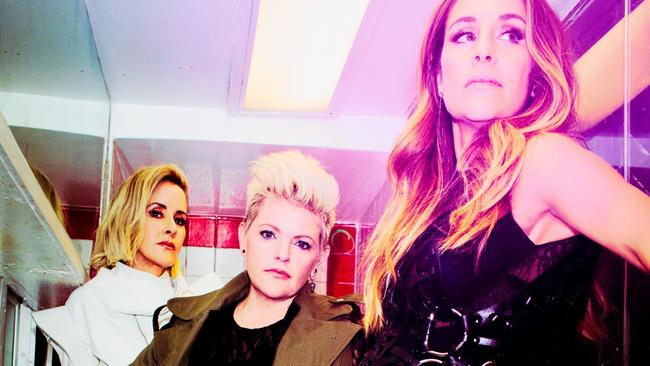 The artists formerly known as the Dixie Chicks. Picture: Robin Harper